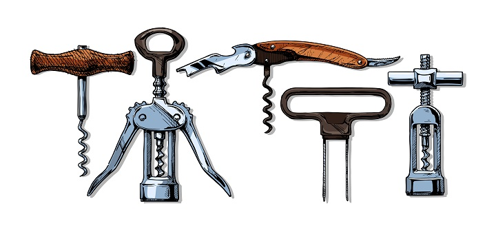 Type-of-corkscrews